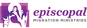 Episcopal Migration Ministries Retina Logo